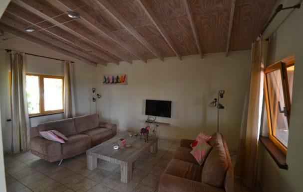 natural woonkamer villa